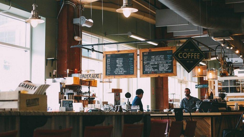 cửa hàng cà phê