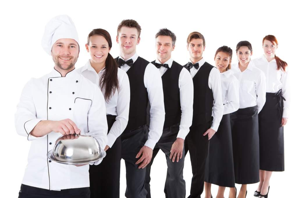 tổ chức nhân sự nhà hàng