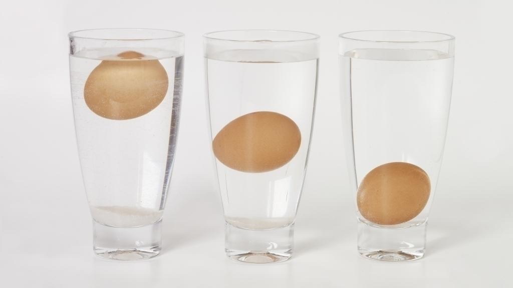 cách kiểm tra trứng mới hay cũ