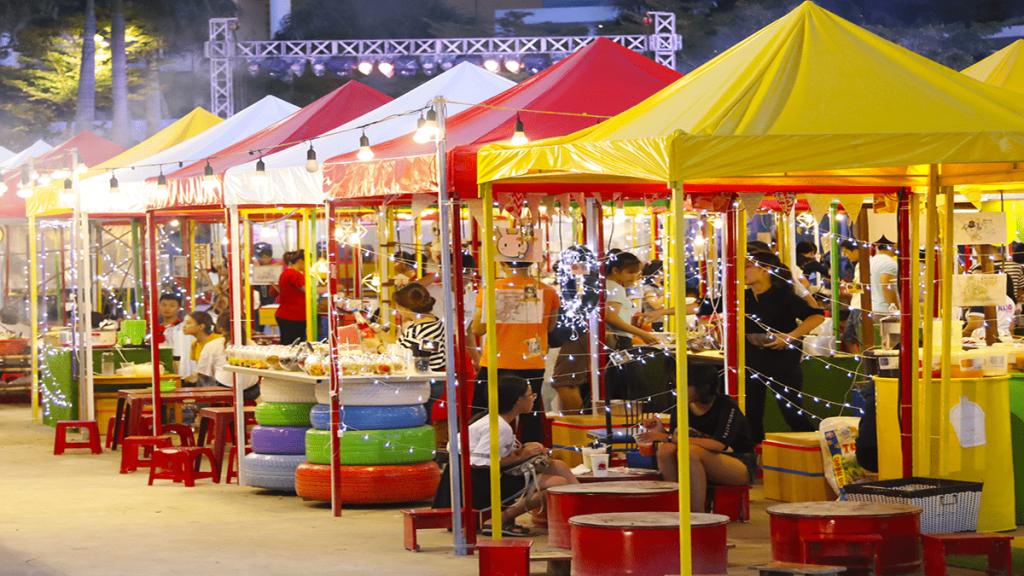 chợ đêm sinh viên ở sài gòn
