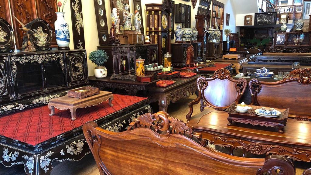 kinh doanh đồ gỗ cũ