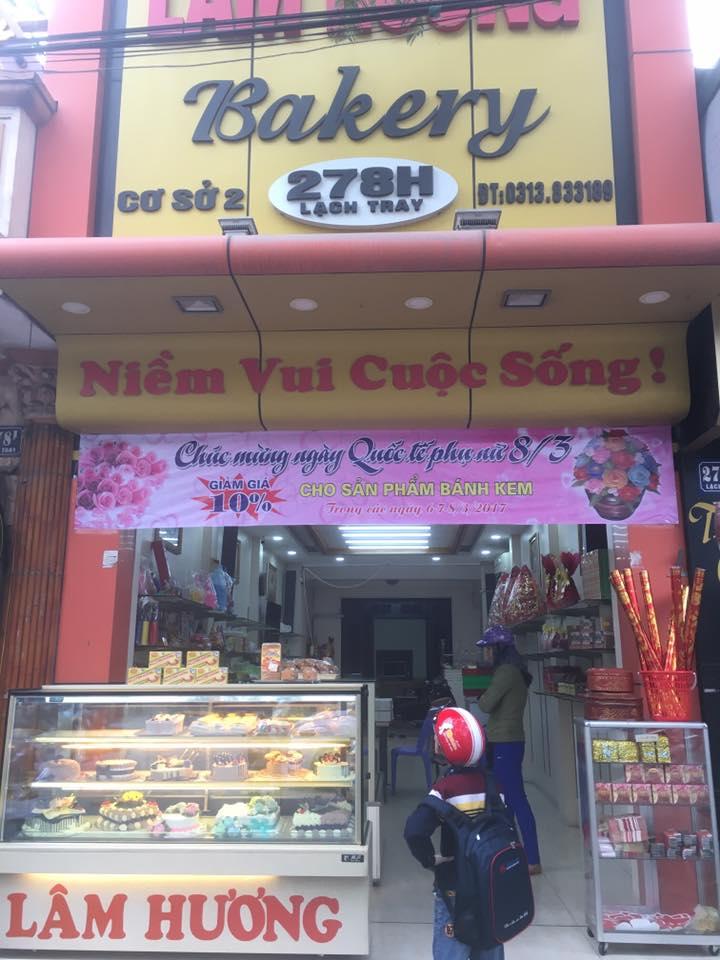 tiệm bánh gato lâm hương hải phòng