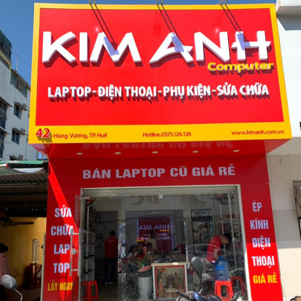 sửa laptop tại Huế - Kim Anh