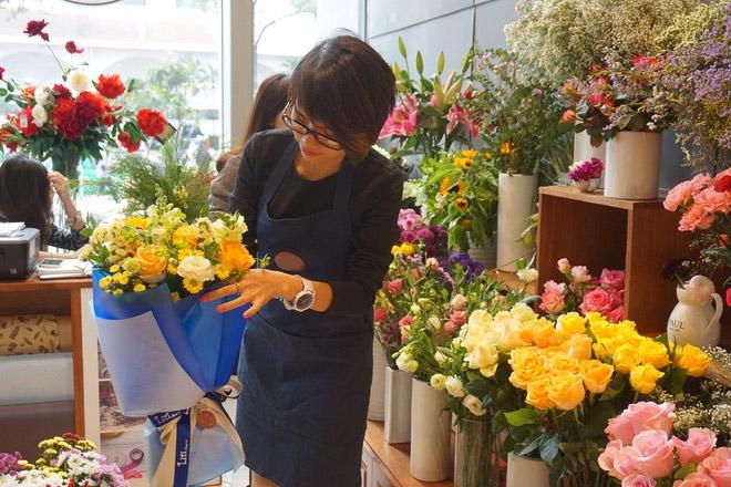 cửa hàng hoa tươi Liti Florist Hà Nội