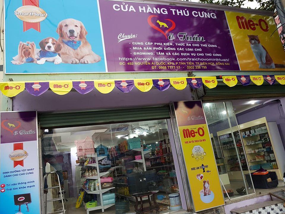 cửa hàng thú cưng biên hòa võ tuấn