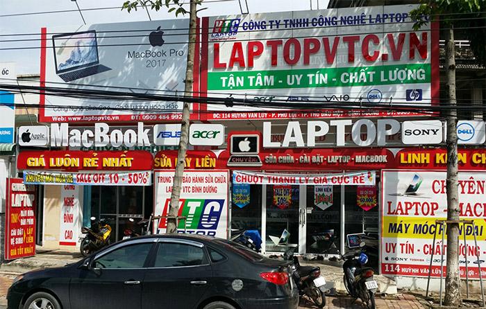 sửa laptop uy tín bình dương