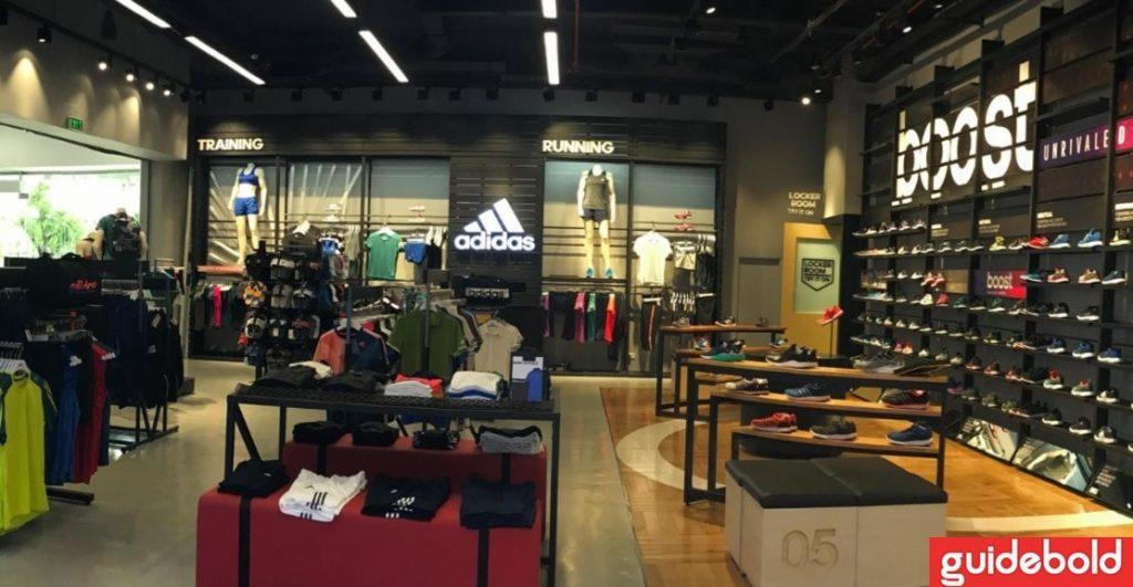 cửa hàng adidas tại huế