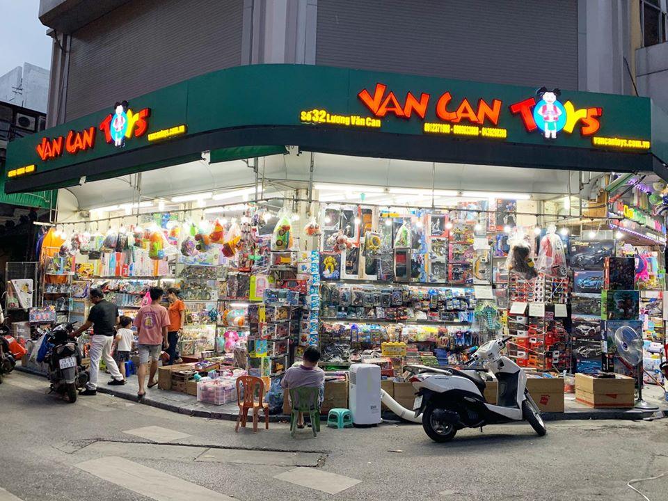 cửa hàng đồi chơi van can toys hà nội