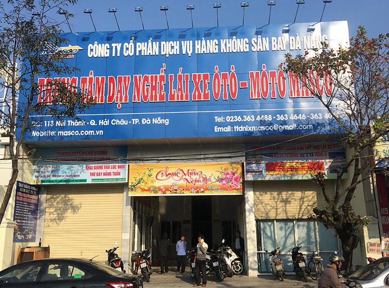 trung tâm dạy lái xe masco đà nẵng
