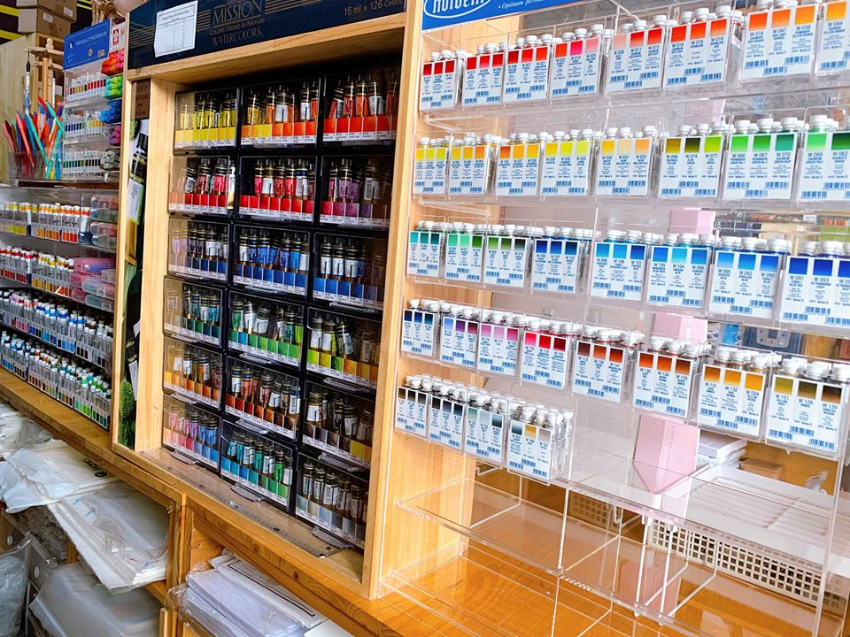 cửa hàng họa cụ hana hà nội