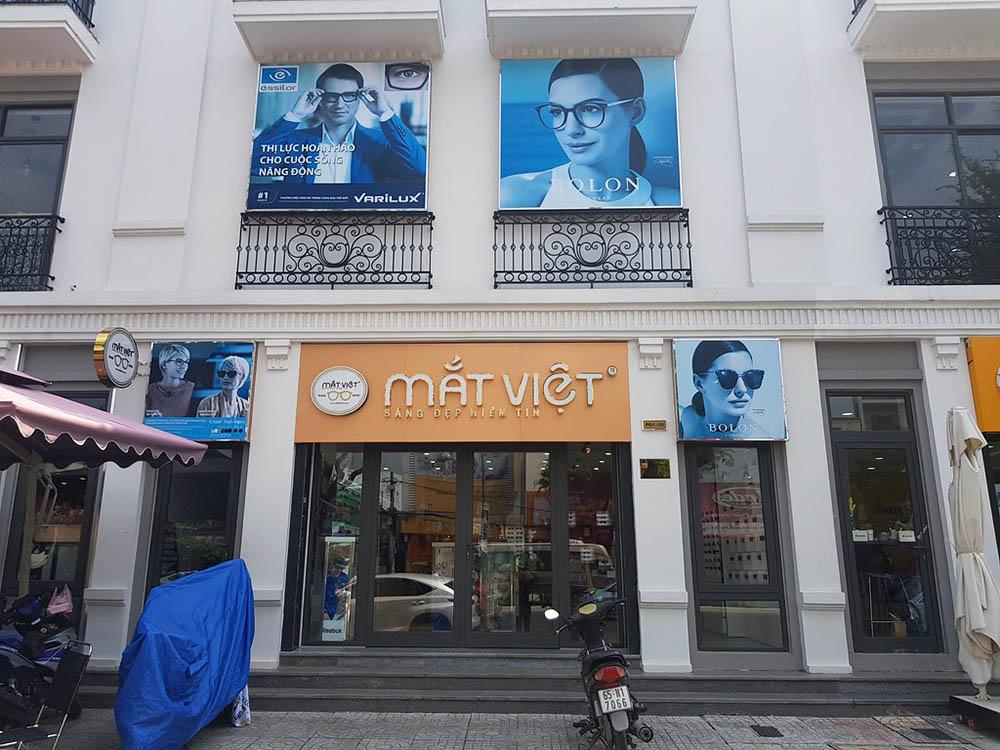 cửa hàng mắt kính Mắt Việt Cần Thơ