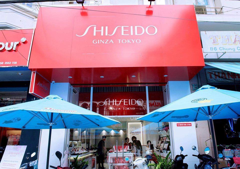 cửa hàng mỹ phẩm shiseido tại nha trang
