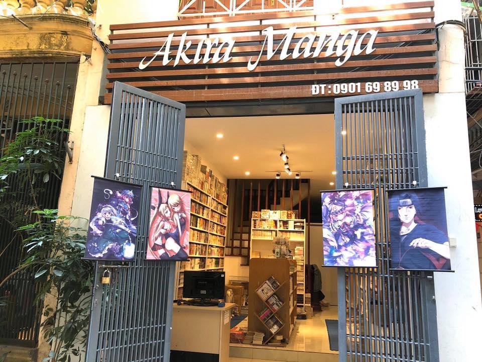 shop bán manga hà nội