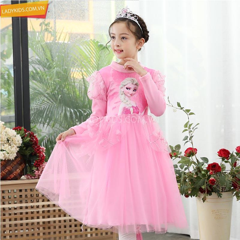 váy công chúa elsa hà nội