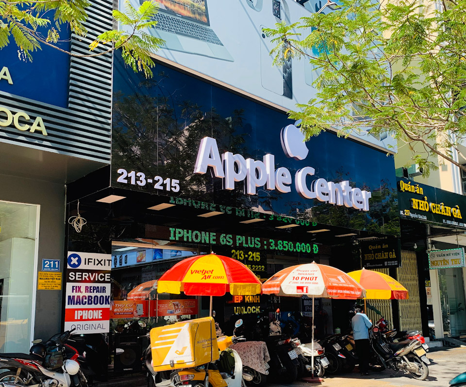 sửa điện thoại iphone tại đà nẵng - apple center
