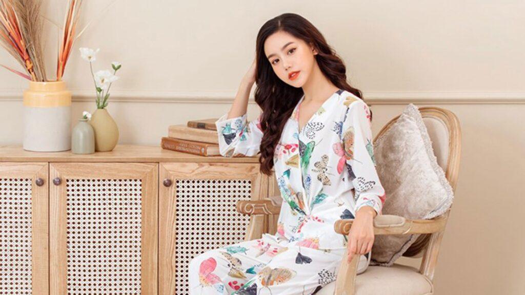 đồ ngủ pijama lụa cao cấp tphcm