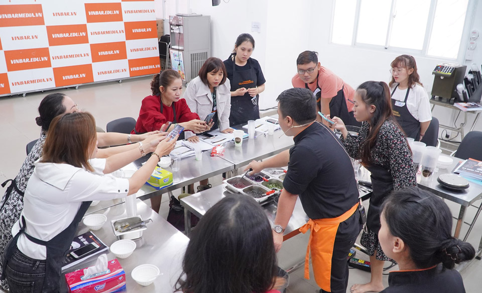 lớp học làm các món ăn vặt tphcm