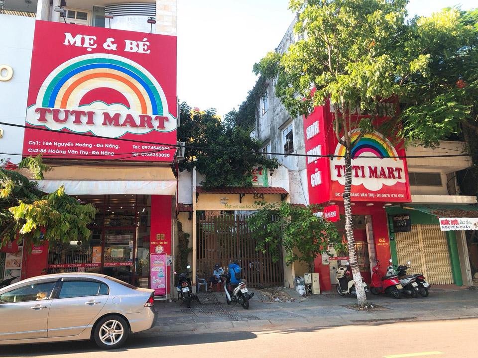 shop mẹ và bé đường hoàng văn thụ đà nẵng - tuti mart