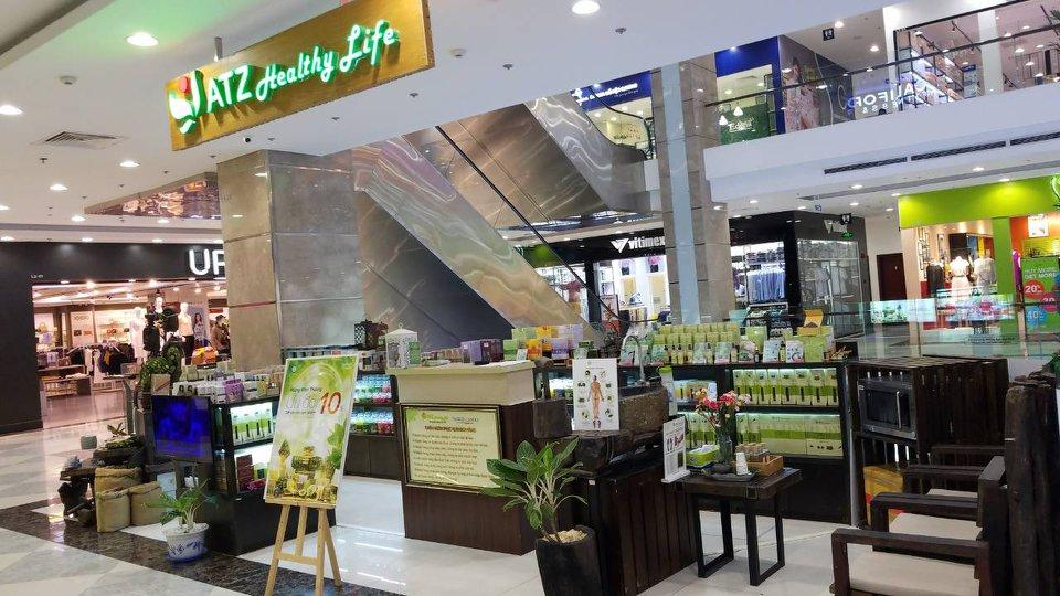 cửa hàng tinh dầu ATZ Organic đà nẵng