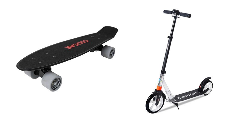ván trượt patin - xe scooter hcm