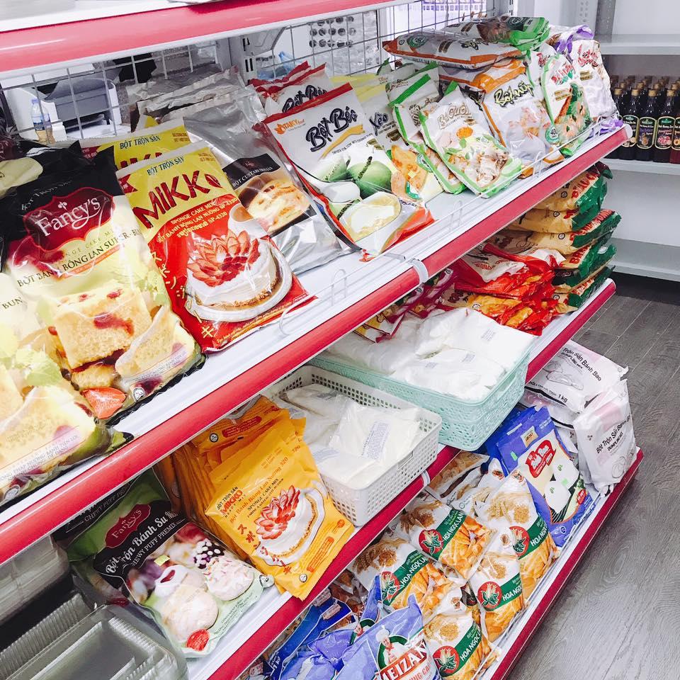 cửa hàng bán nguyên liệu làm bánh tại hải phòng