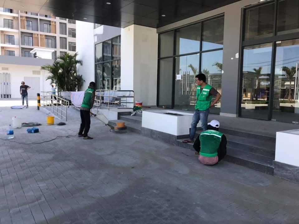 vệ sinh công nghiệp sau xây dựng đà nẵng