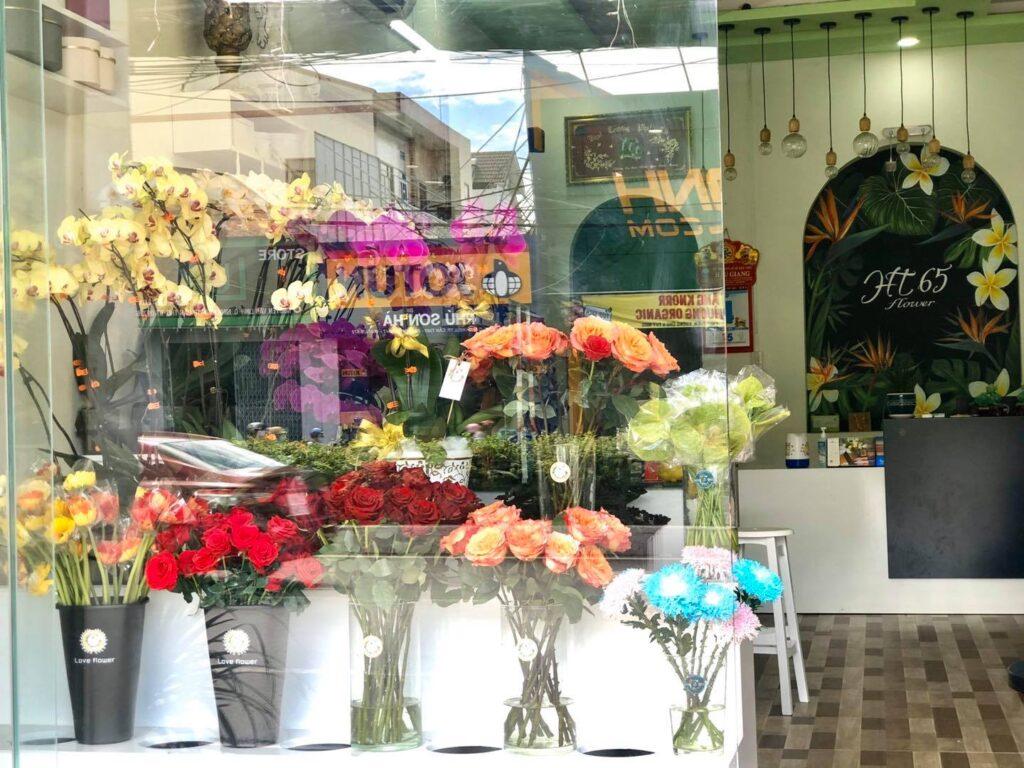 shop hoa ở cần thơ