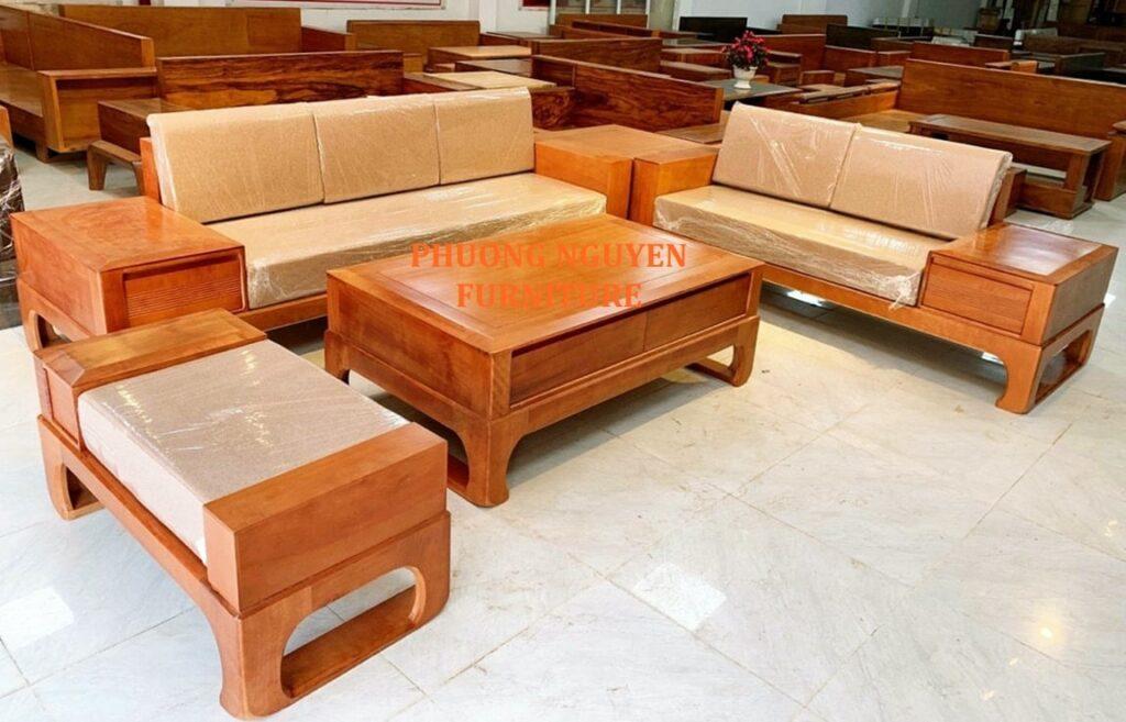 bàn ghế gỗ tại huế