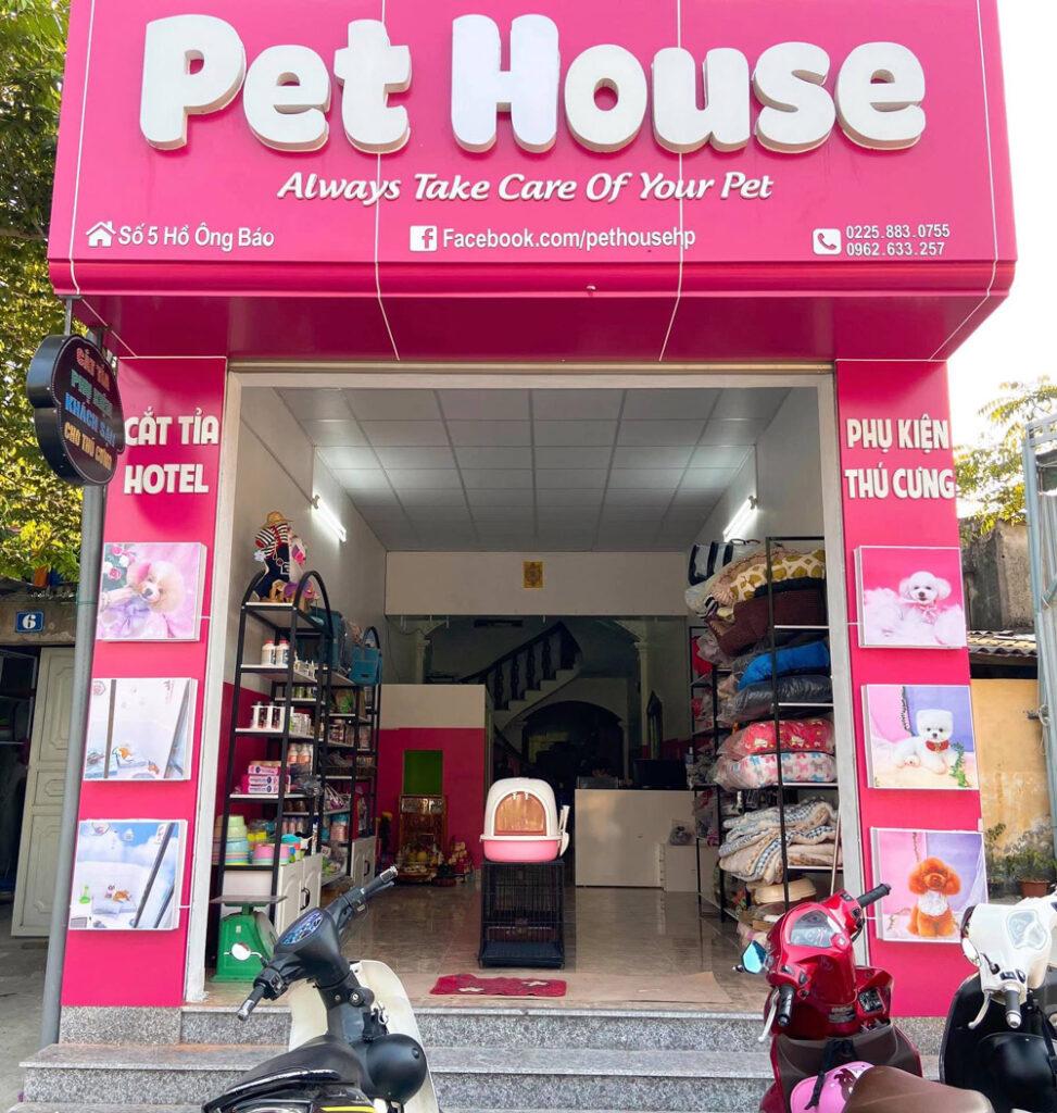 shop chó mèo ở hải phòng
