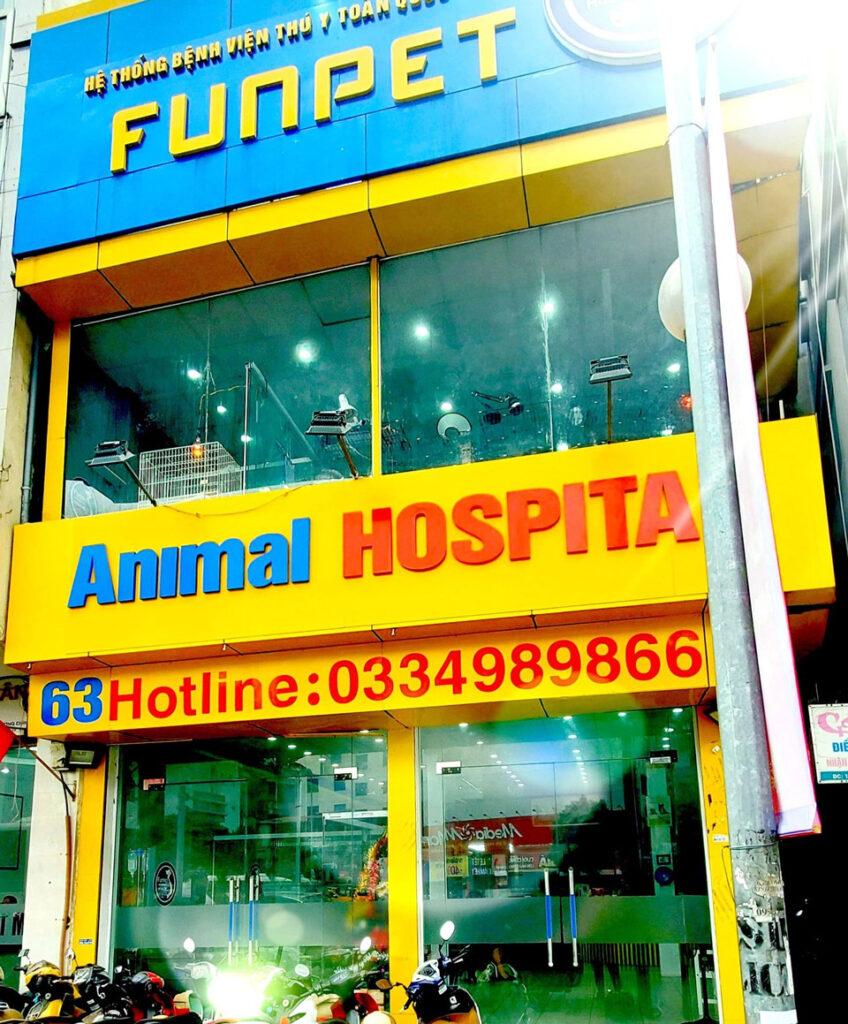 bệnh viện thú cưng hà nội